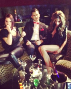 Miss Shine - Sexe Crime tournage vidéo clip